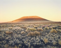 James Turrell's Roden Crater at Sunset