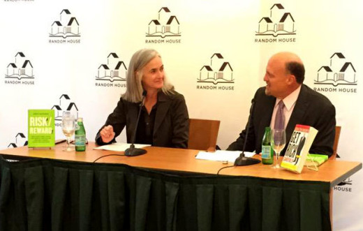 "Anne with Jim ""Mad Money"" Cramer at Random House's Big Ideas Night"