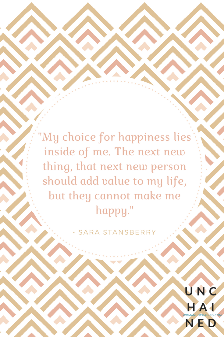 Unchained by Sara Stansberry