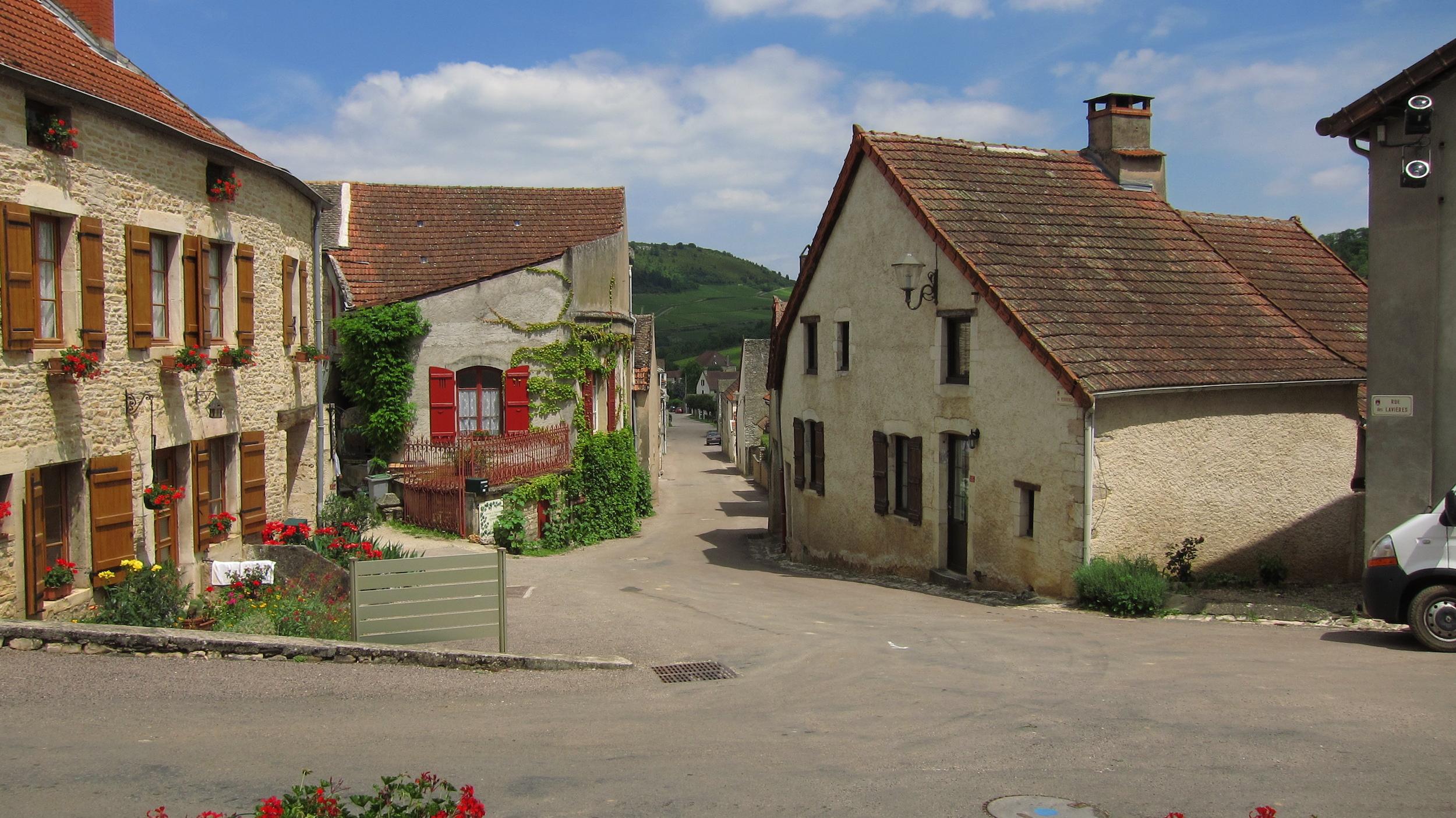 Village of St. Aubin.