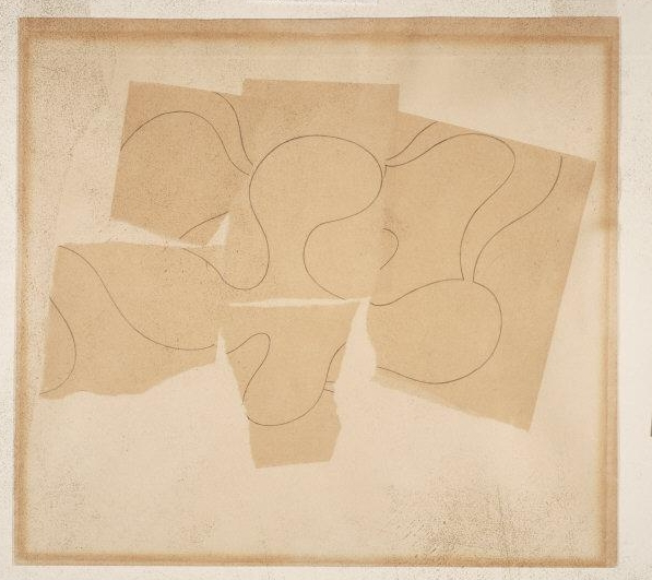 Jean (Hans) Arp,(1888-1966) © ARS, NY    Composition, 1937. Collage with applied paper and graphite on paper. Sheet: 9 x 12 3/4 inches (22.9 x 32.4 cm). A. E. Gallatin Collection, 1947    Location:  Philadelphia Museum of Art, Philadelphia, U.S.A.    Photo Credit:  The Philadelphia Museum of Art / Art Resource, NY    Image Reference:  ART441162