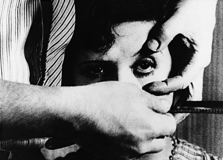 Un Chien Andalou , 1929. Directed by Luis Buñuel. Photo Credit: Buñuel-Dalí /Album/Art Resource, NY. For Editorial Use Only.    Photo Credit:   Album / Art Resource, NY    Image Reference:   ART533745