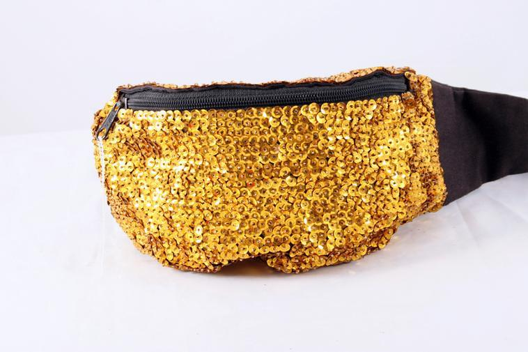 Gold sequinned bag, 1980s. Rights information: Cleared for Editorial Use Only. Please Contact Us For Any Other Clearance Rights    Photo Credit:   HIP / Art Resource, NY    Image Reference:   AR999098