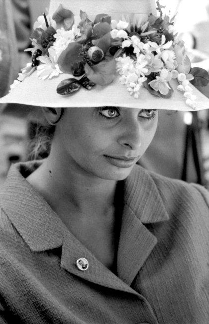Georges  Dudognon,  (b.1922) © adoc-photos   The Italian actress Sophia Loren at the Cannes film festival in 1961.    Photo Credit:   Adoc-photos / Art Resource, NY    Image Reference:   ART533068