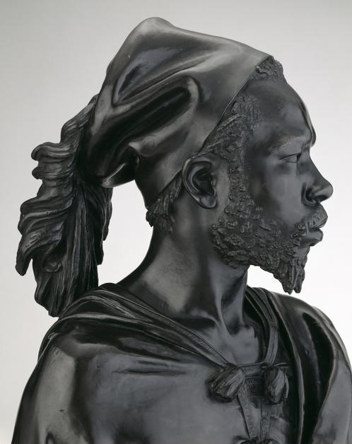 Charles Henri Joseph  Cordier,(1827-1905)    Bust of Said Abdullah of the Darfour People , 1848. Bronze, H. 82.5 cm (32 1/2 in.) (with socle). Ada Turnbull Hertle Endowment, 1963.839.    Location:  The Art Institute of Chicago, Chicago, U.S.A.    Photo Credit:  The Art Institute of Chicago / Art Resource, NY    Image Reference:  ART526965