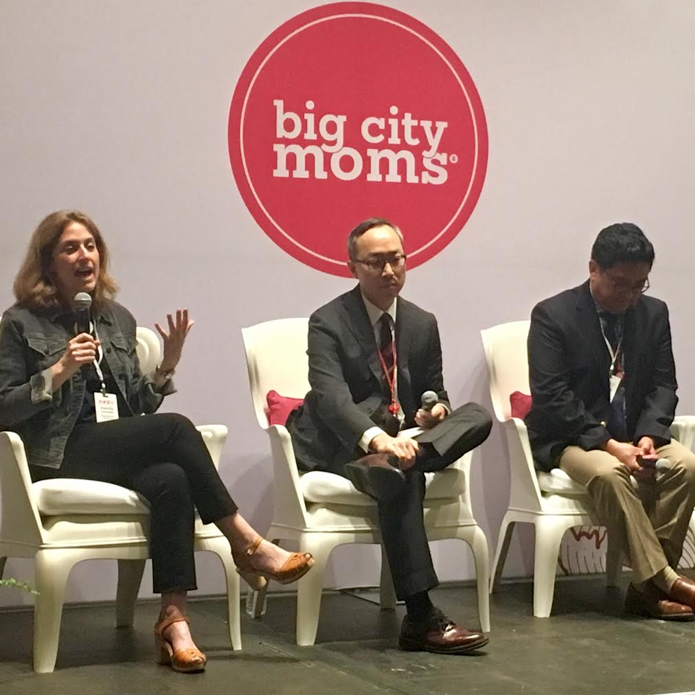 Dr. Birndorf on Big City Moms Panel