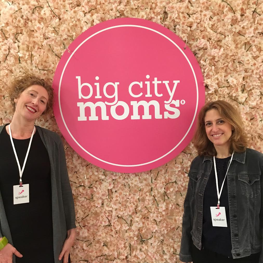 Paige Bellenbaum & Dr. Birndorf at Big City Moms