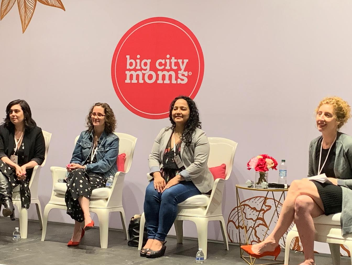 TMC Team on Panel at Big City Moms