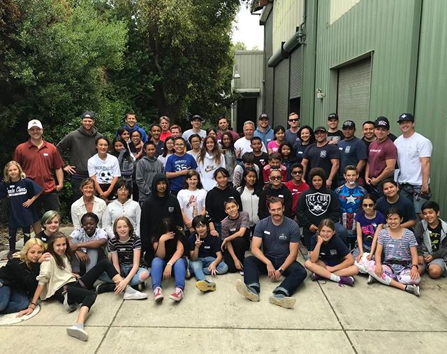 Today @better_togetherscfd celebrated at #Planetgranite with a great rock climbing event that converged roughly 80 volunteers, facilitators, and students to commemorate the Better Together school year. Great stuff guys! Congrats to all. #local1171 #SCFF @santaclara_fd @santaclaracity