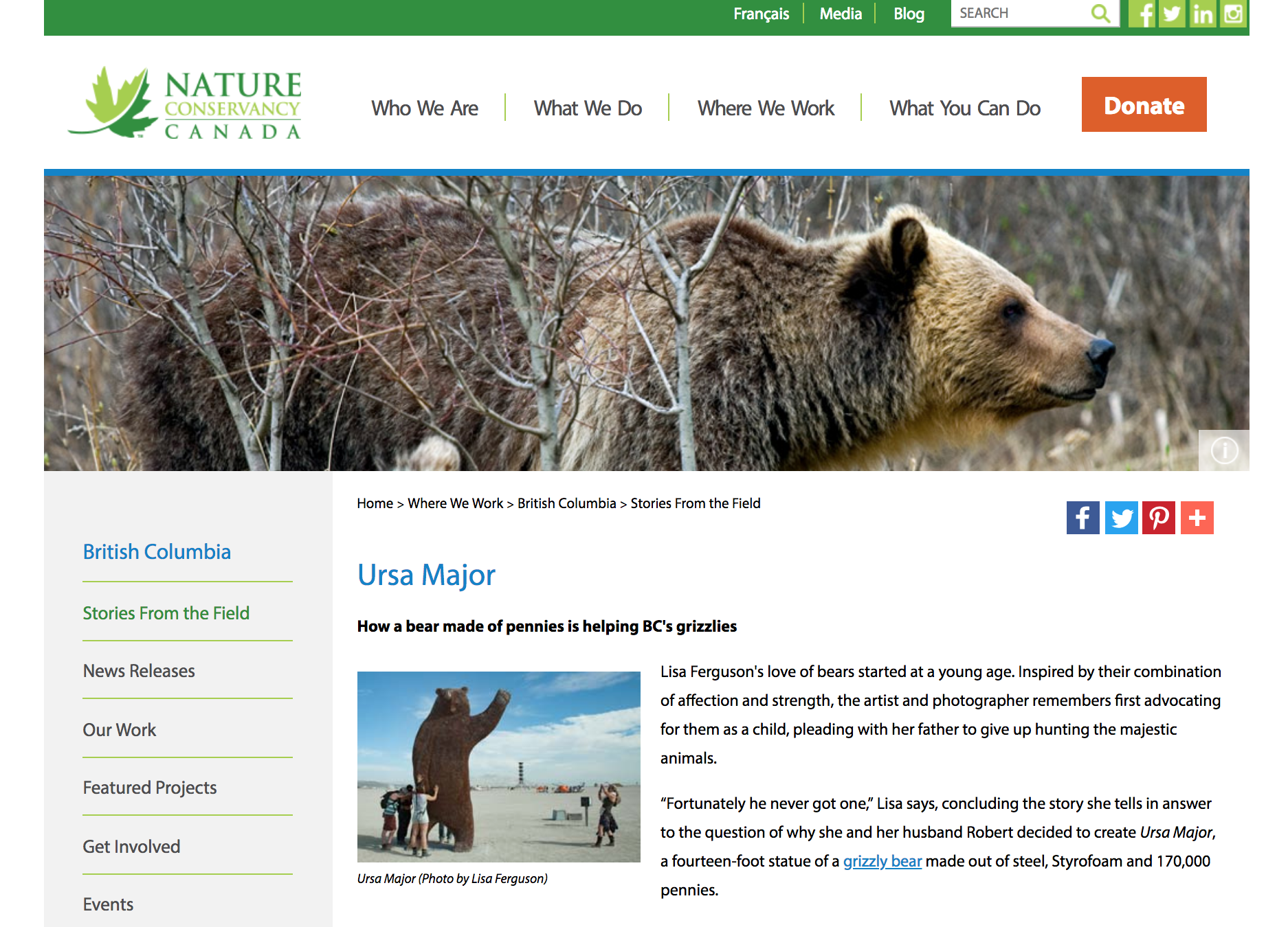 http://www.natureconservancy.ca/en/where-we-work/british-columbia/stories/ursa-major.html