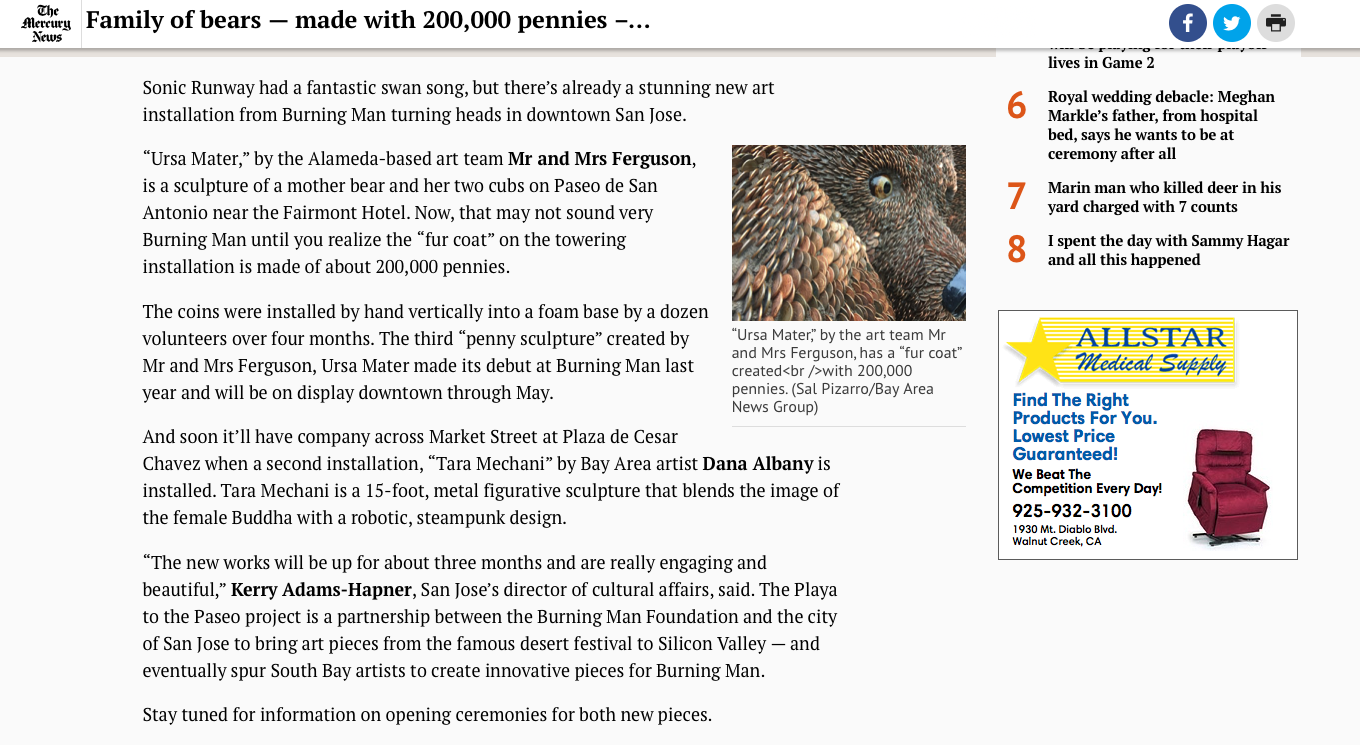 https://www.mercurynews.com/2018/03/14/pizarro-family-of-bears-made-with-200000-pennies-in-downtown-san-jose/