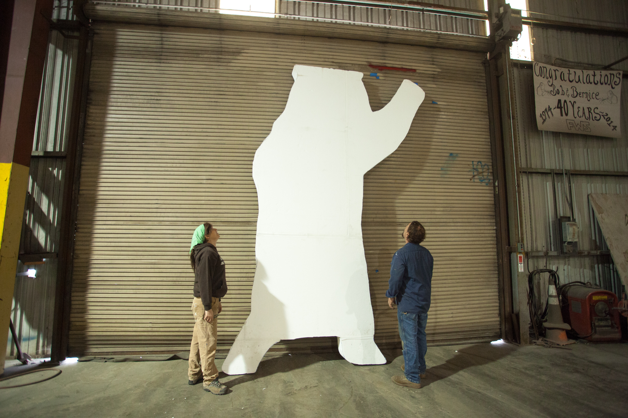 First Layer of 2-D Bear