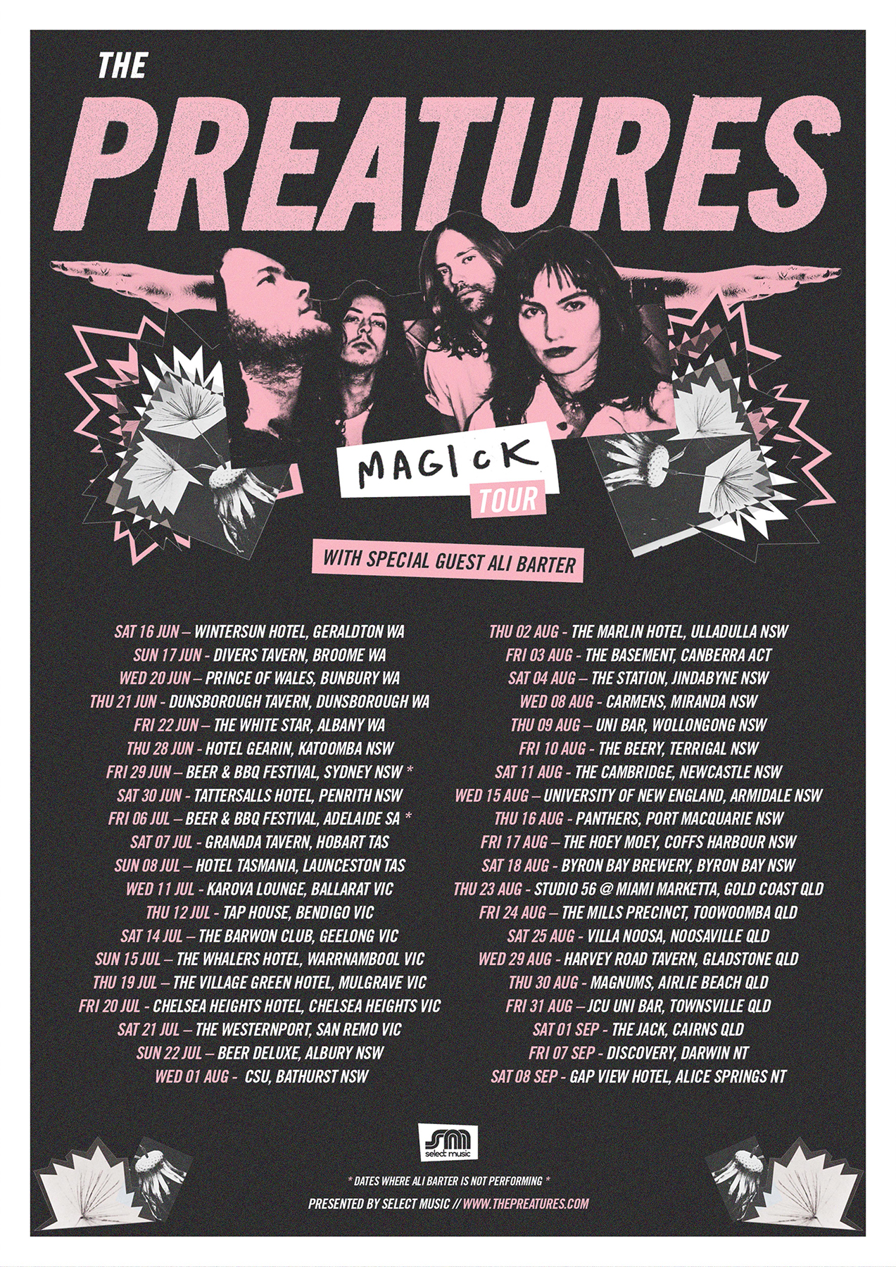 The Preatures - Magick Tour Poster.jpg