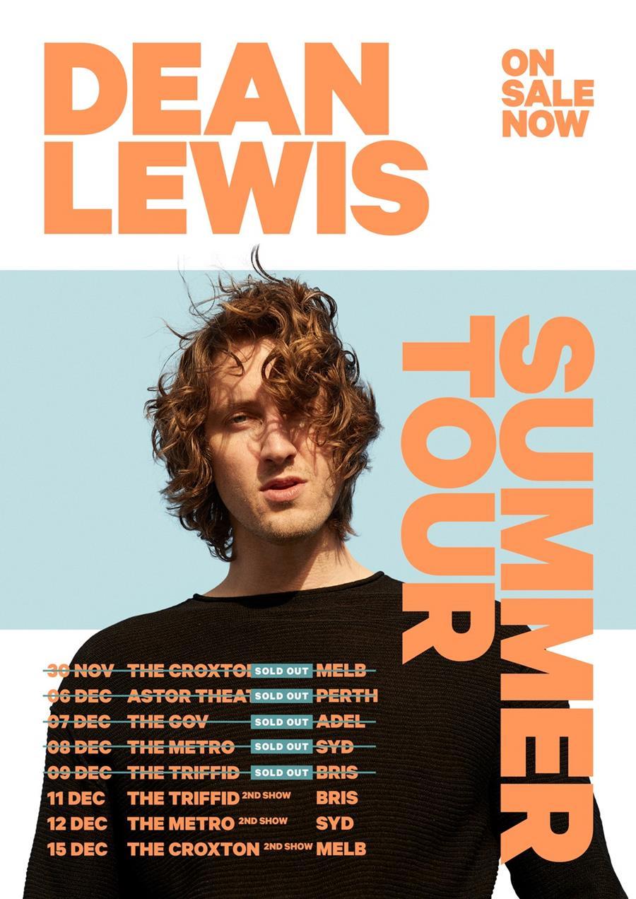 Dean Lewis - Summer Tour - Poster.jpg