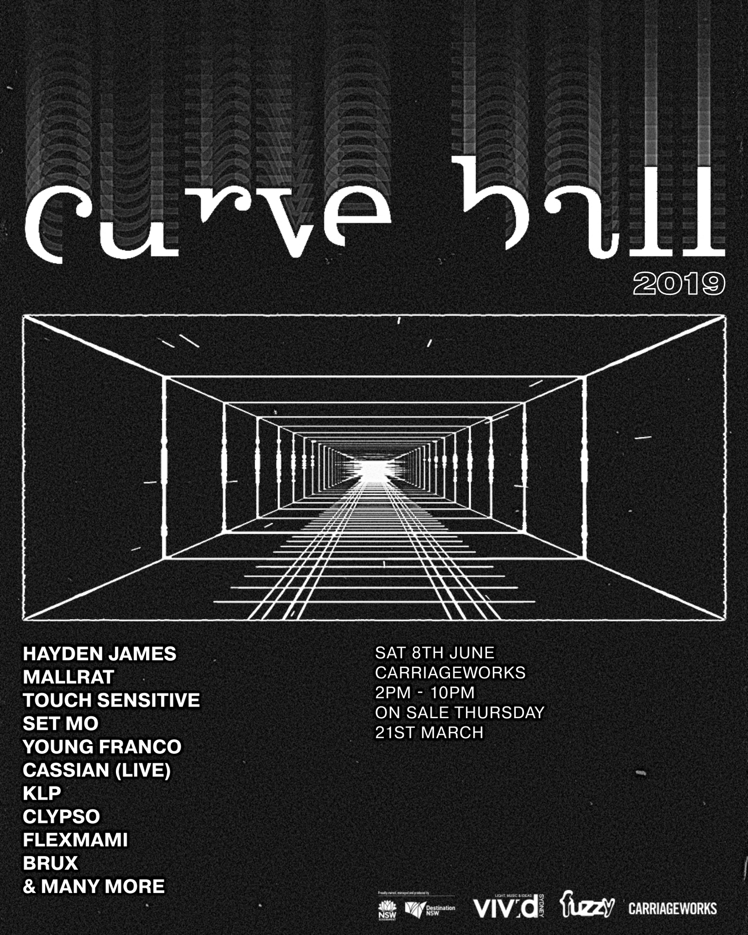 Curve Ball 2019 Lineup
