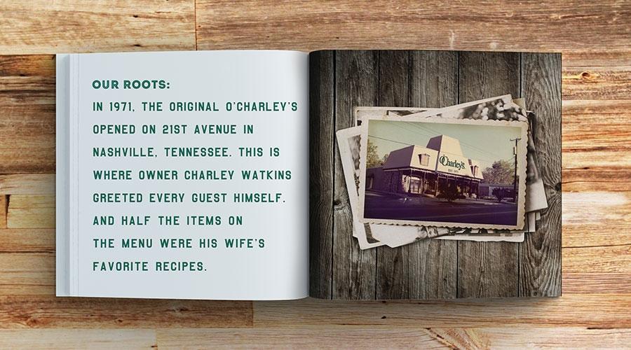 bohan | O'Charleys Brand Book