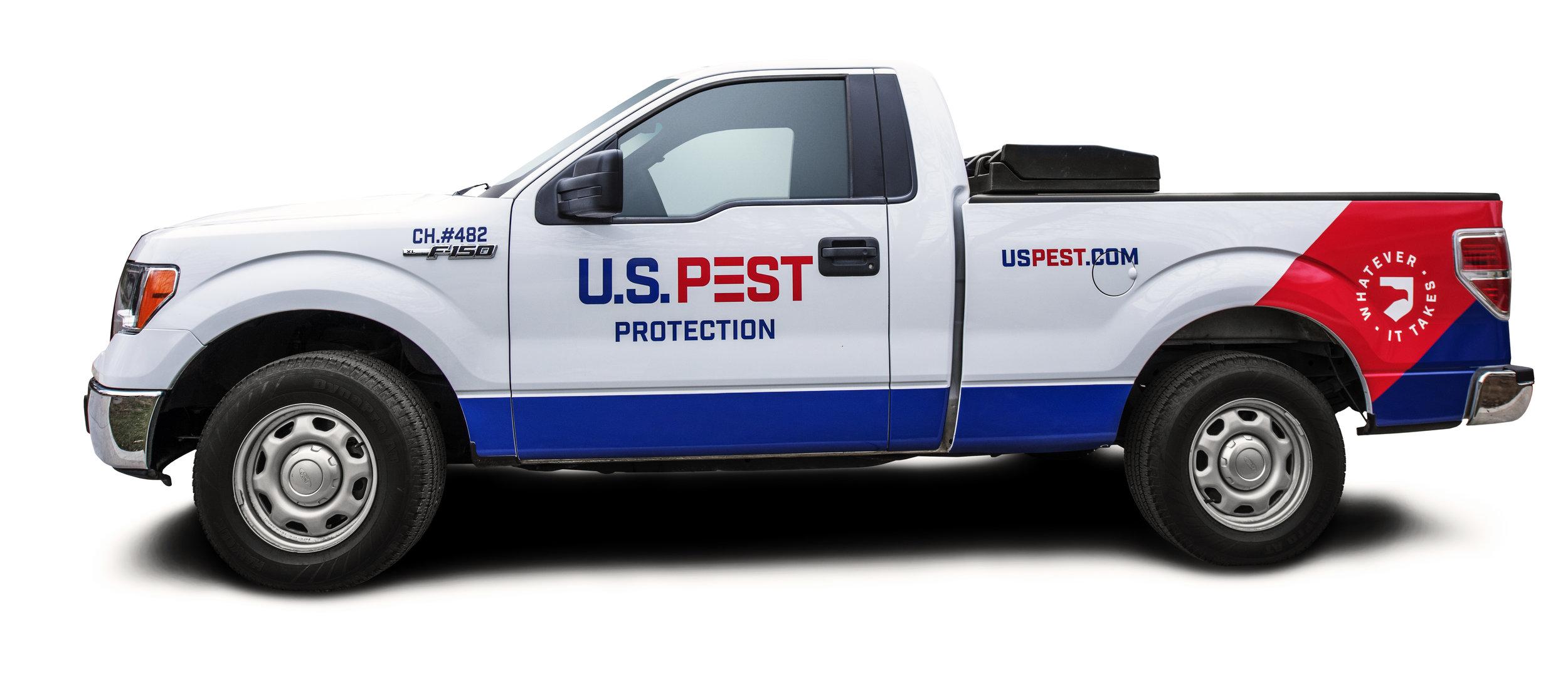 bohan | U.S. Pest New Vehicle Wrap