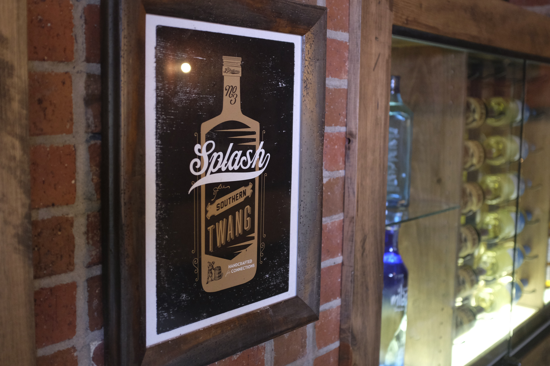 bohan | Splash Southern Twang Poster