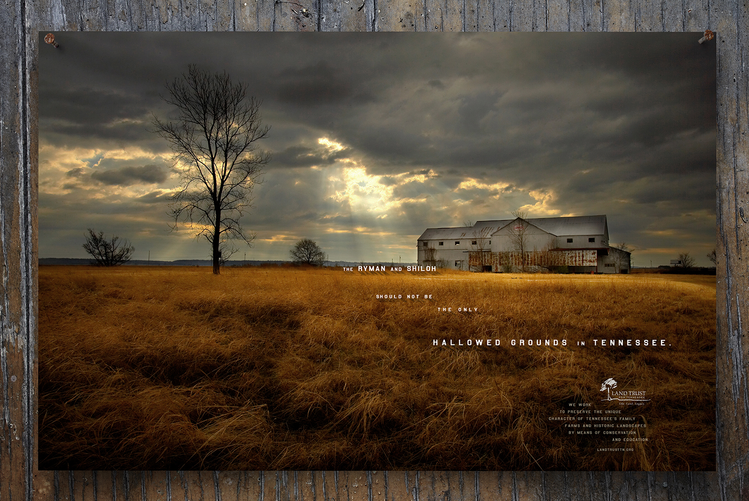 "bohan | LandTrust Tennessee ""Hallowed Grounds in Tennessee"" print"