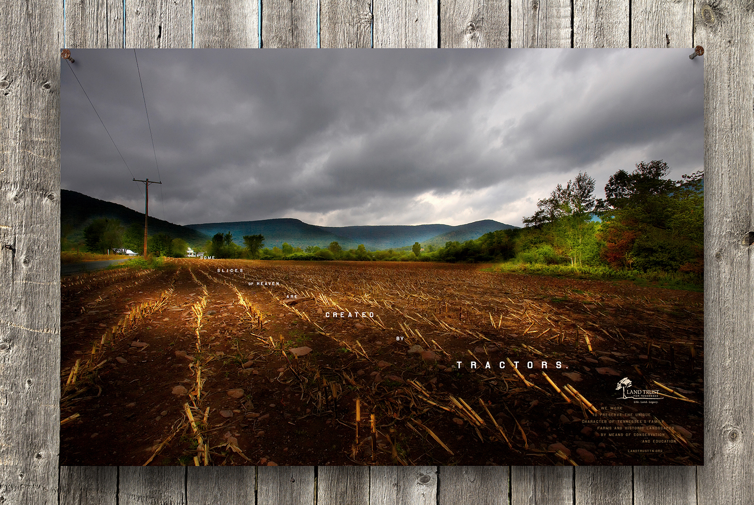 "bohan | LandTrust Tennessee ""Some Slices of Heaven"" print"