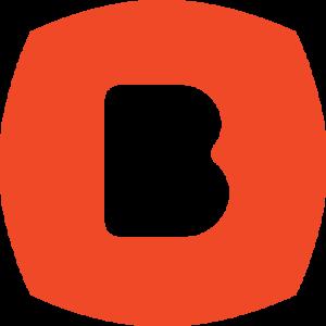 "bohan ""b"" icon logo- red"