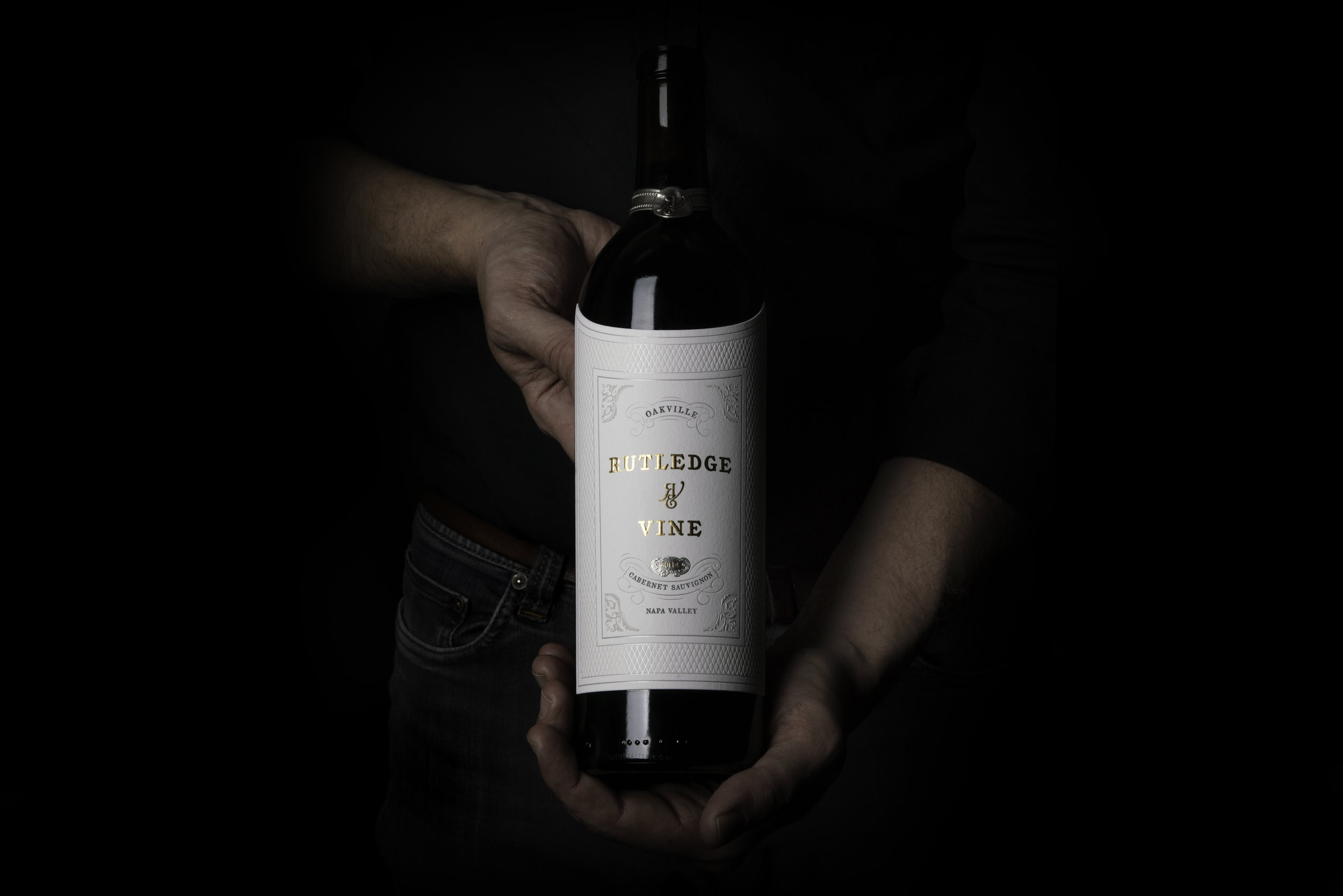 bohan | Rutledge & Vine bottle label detail.