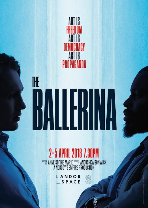APRIL    The Ballerina,   a great play for which I played a journalist (voice-over).