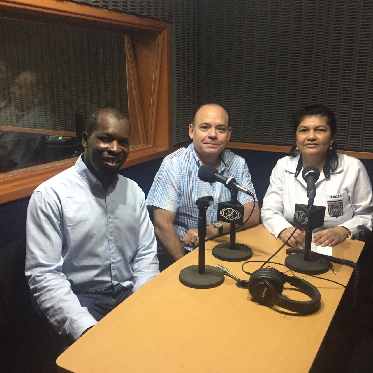 FEBRUARY  Interview on Radio Universidad on my for my concert  Some Enchanted Evening  in Campeche (Mexico).