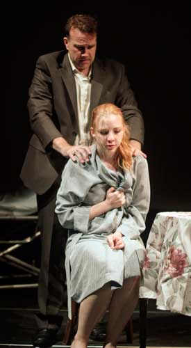 Ted Koch and Erin Darke in IN THIS, OUR TIME... Photo by Rahav Segev. Summer Shorts 2011.
