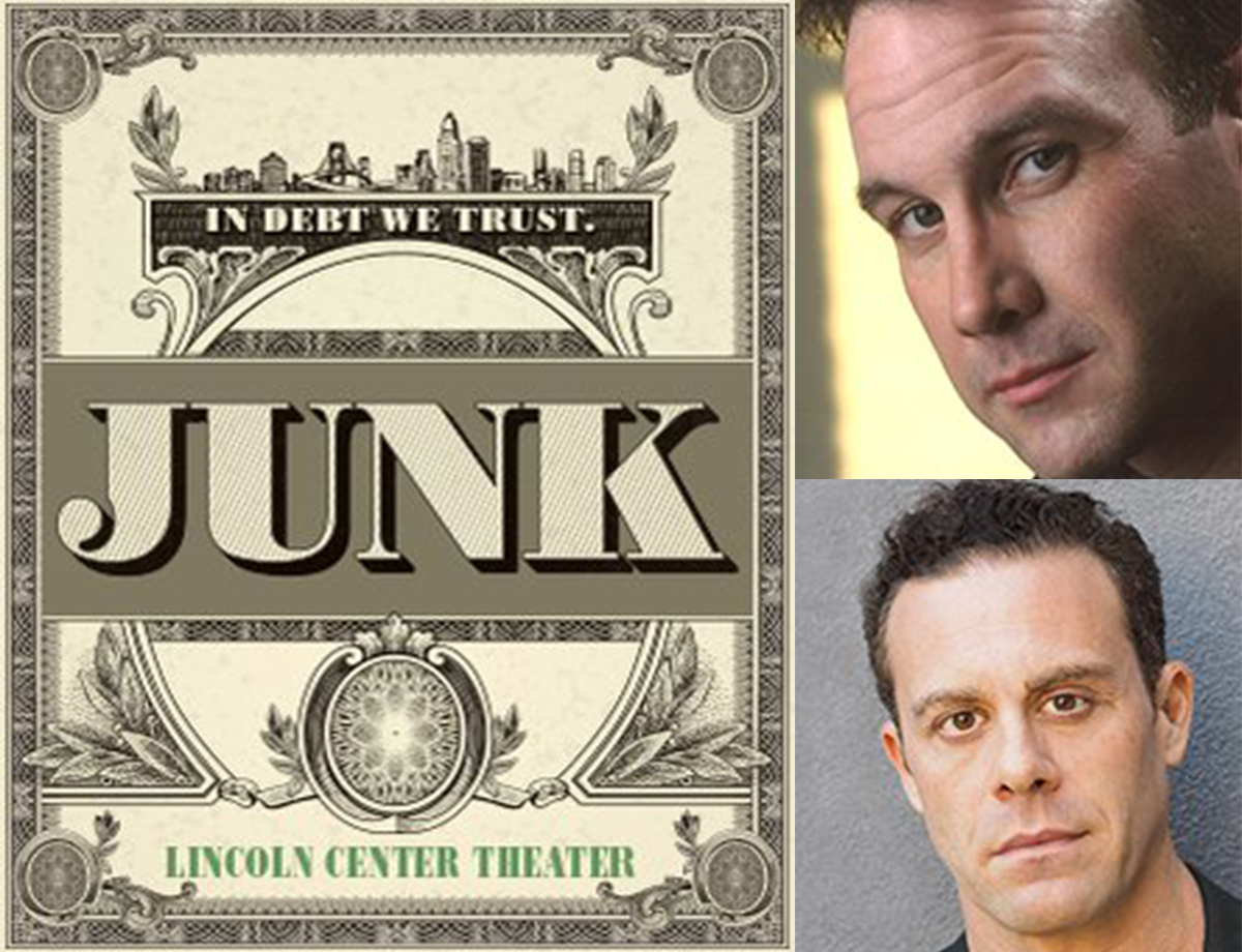Ted Koch (SS'17:  Acolyte ) and Matthew Rauch (SS'14:  Riverbed ) are featured in a new Broadway play called  Junk , running at the Lincoln Center Theater through January 7, 2018. For more information, click  here .