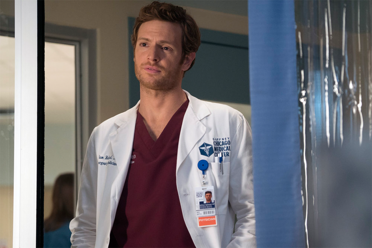 Check out Nick Gehlfuss (SS'12:  Drive-In Dreams ) in his recurring role on  Chicago Med  on NBC.