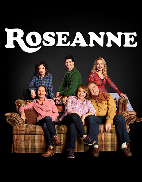 The critically acclaimed reboot of  Roseanne returns to ABC on Tuesday nights, 8pm. The show stars alum Alicia Goranson (SS'12: The Furies ).