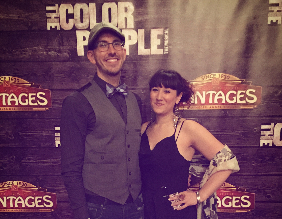 The Color Purple   National Tour recently featured alums Richard Leigh-Nilsen (SS' 16-17) and Dee Dee Katchen (SS' 13-17) on the tour dates in San Francisco and LA.
