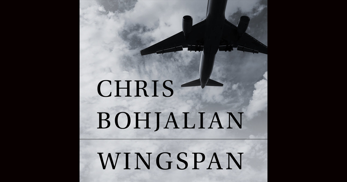 Chris Bohjalian's one-act play,  Wingspan , previously titled  Grounded  (SS'18), is now available as a stage play audiobook. The recording features original cast KK Glick and Grace Experience. To purchase and listen, click  here .