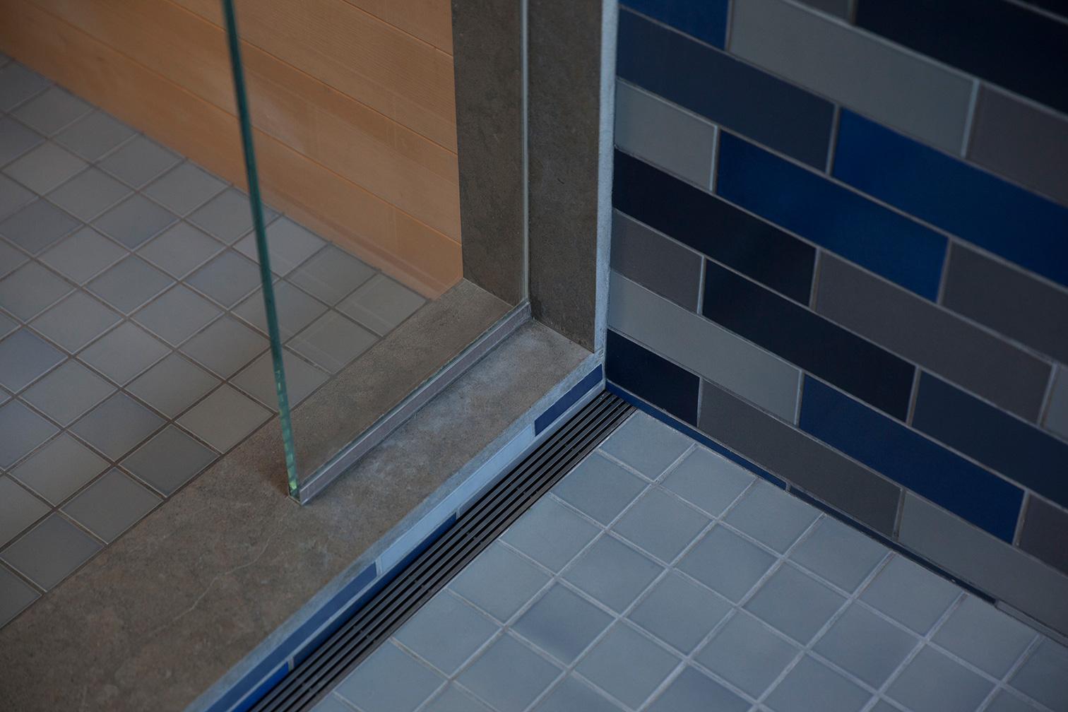 Master Bath Spa Drain Detail