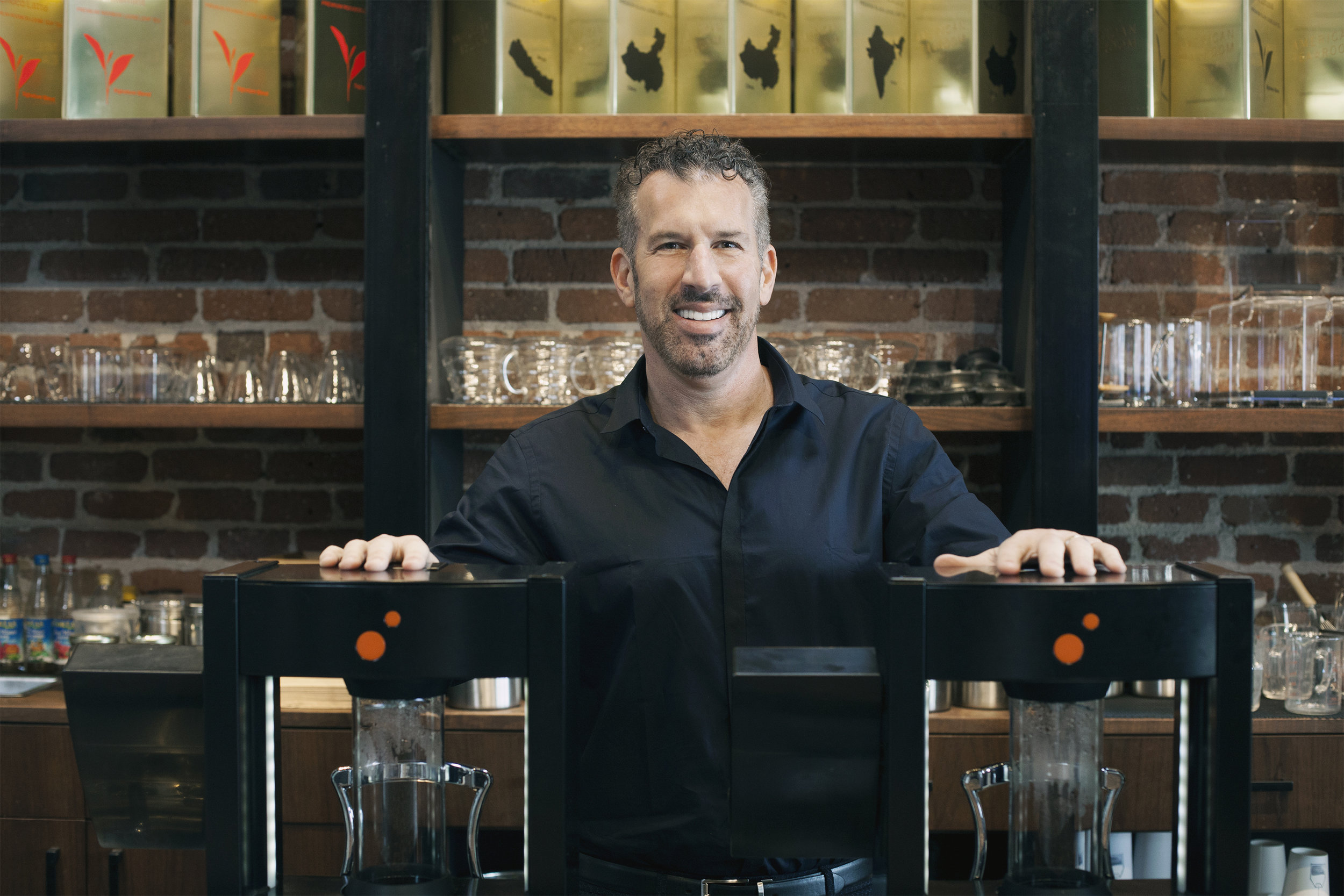 David Barenholz, American Tea Room