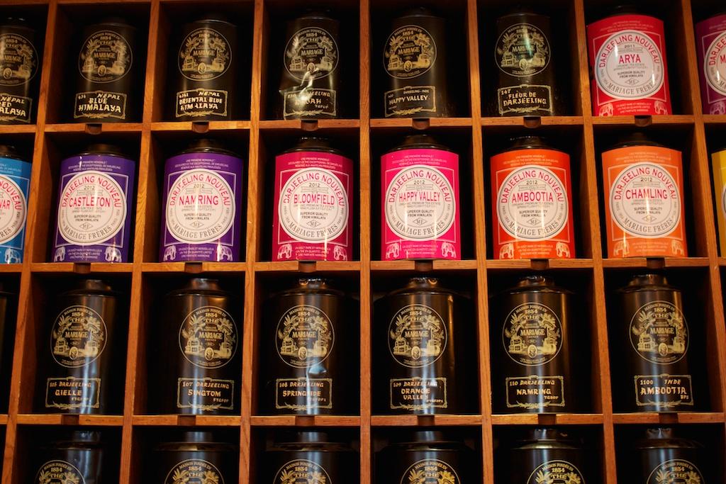 A taste of Parisian tea style...