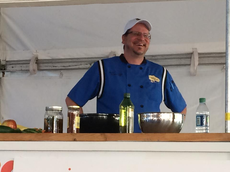 Brian Sonoskus, Head Chef at Star Diner in Marshall, NC (formerly of Tupelo Honey Cafe in Asheville, NC, and beyond)