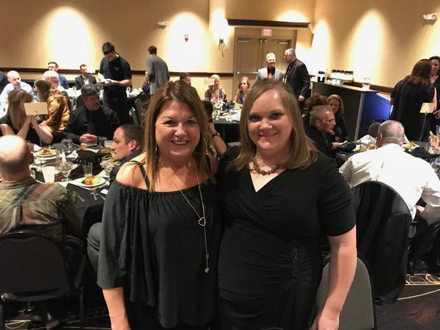 Dawn Black and Amy Schroeder