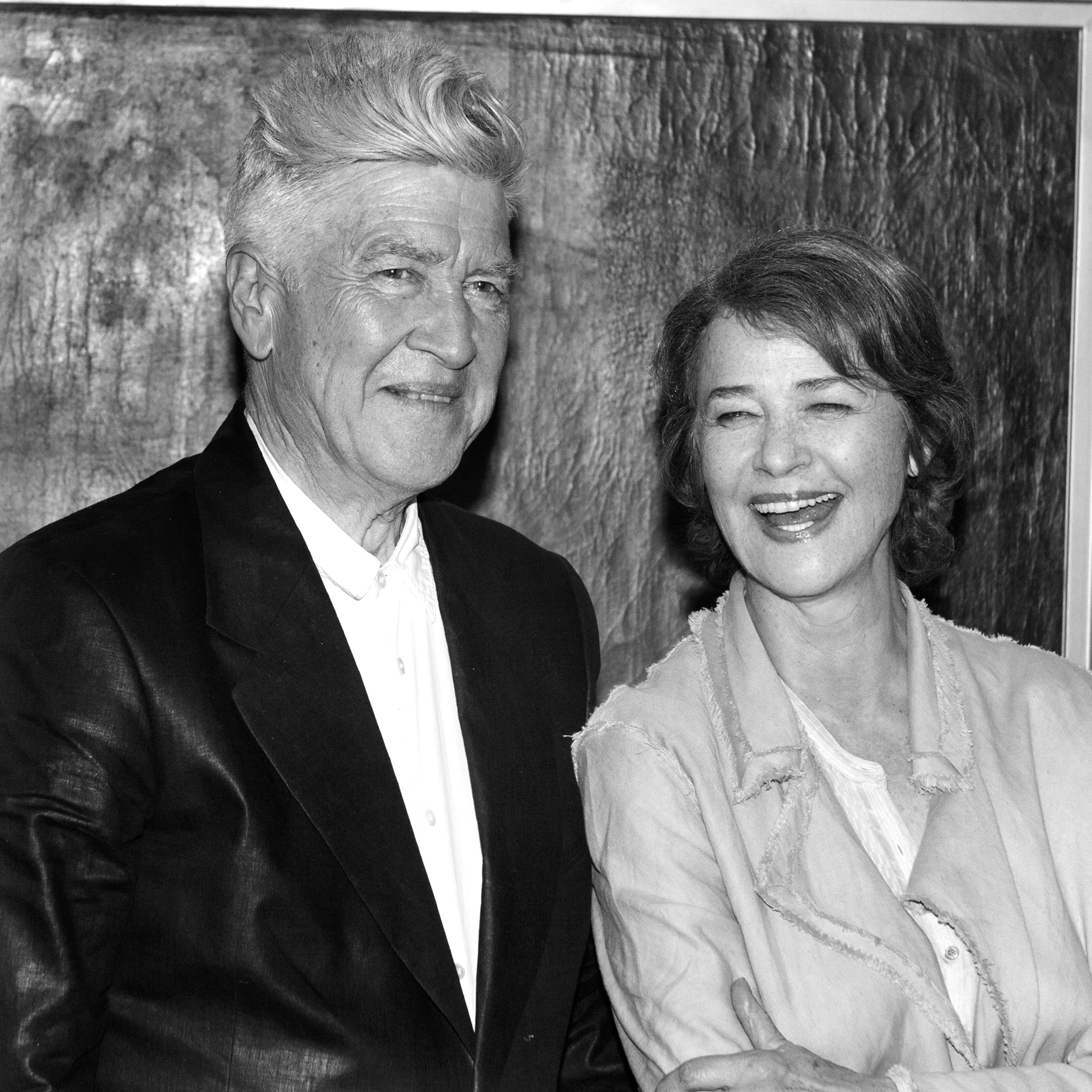 David Lynch & Charlotte Rampling
