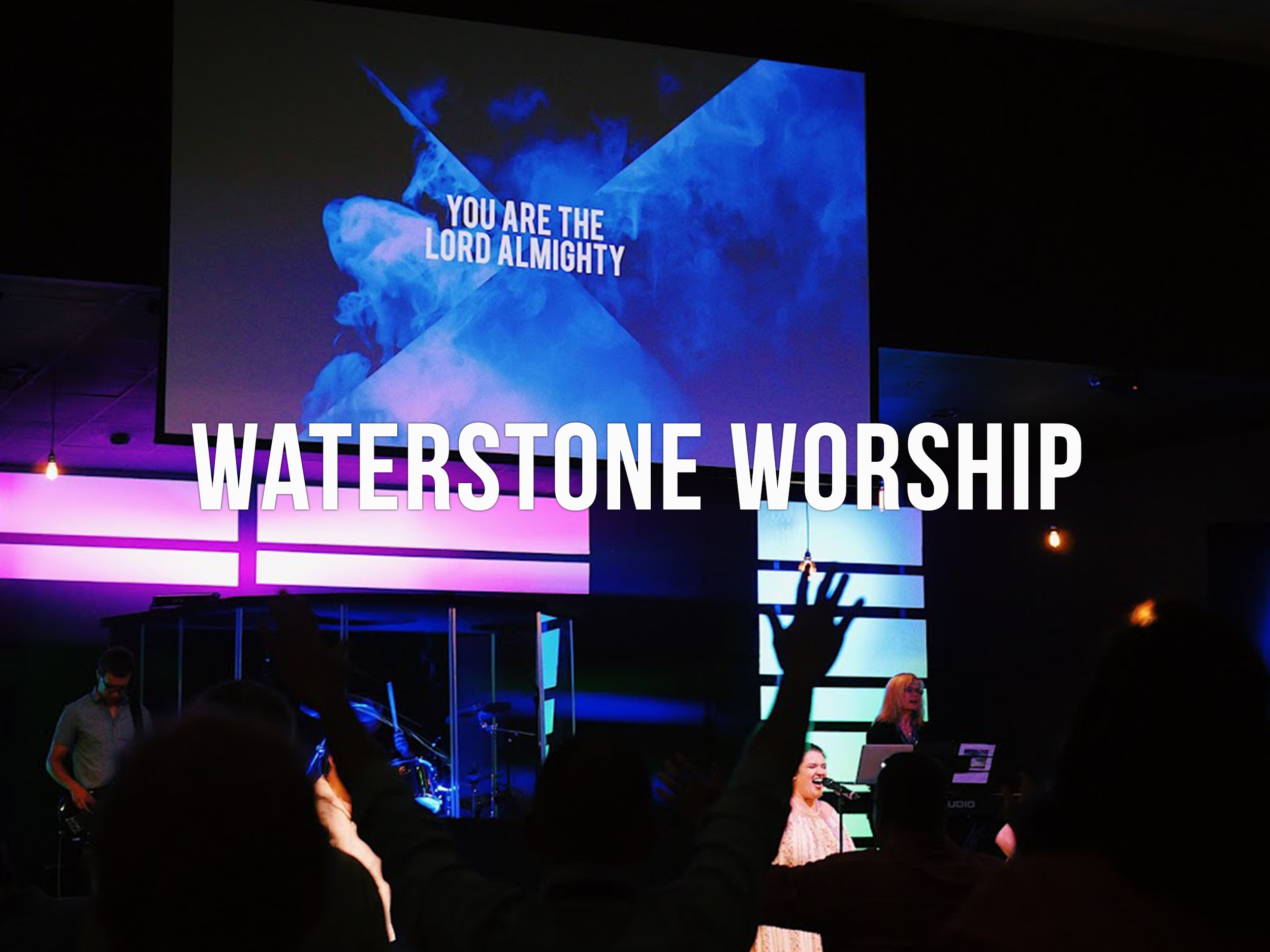 Whether leading worship, running sound, or taking photos, WaterStone Worship looks for creatives who have the heart to serve the local church.  To audition for the team,  click here.