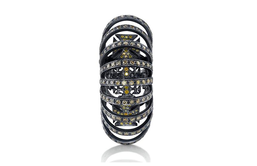 Nine Arch Maltese Ring