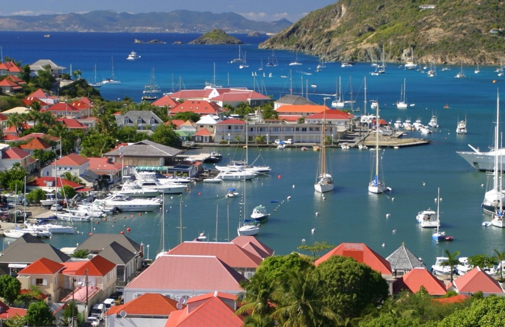 Gustavia Harbour by Day