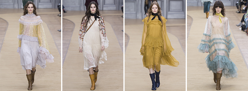The softer side of Chloé AW16