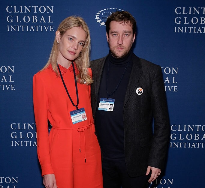 Elbi Founders Natalia Vodianova and Timon Afinsky / Photo: JP Yim / Getty