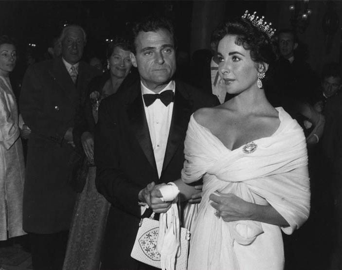 Elizabeth Taylor & Michael Todd 1957