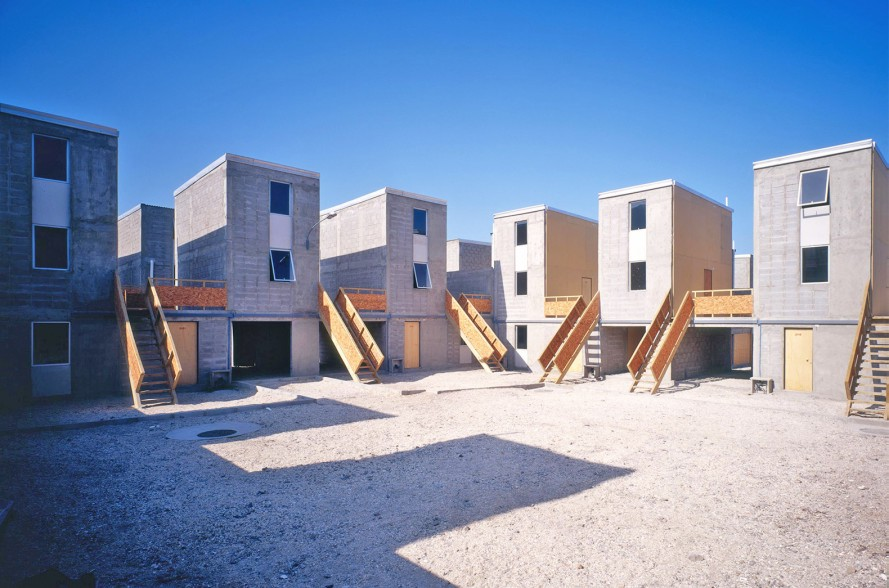 Avarena's Quinta Monroy Housing Project in Chile, completed in 2013.