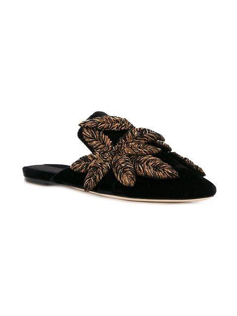 Embellished Slippers