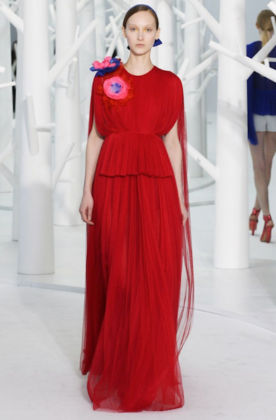 An evening look from Delpozo Autumn/Winter '15