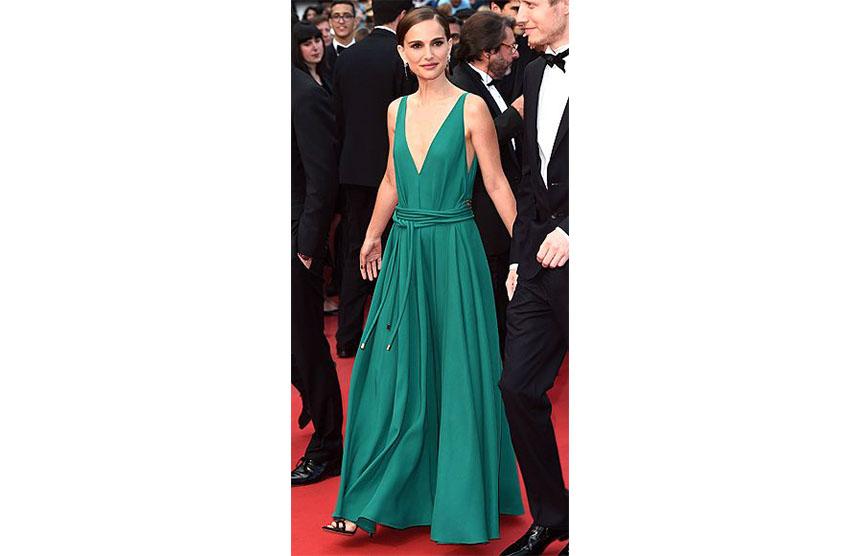 Natalie Portman in Lanvin 2015